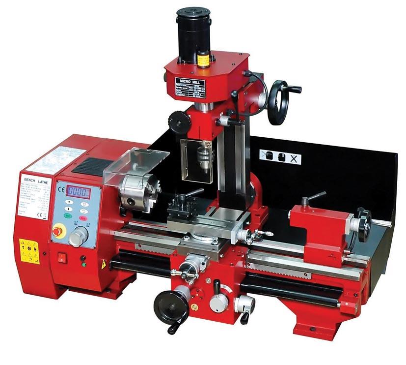 Multi purpose Lathe/Drill/Mill Machines - Amit Engineering